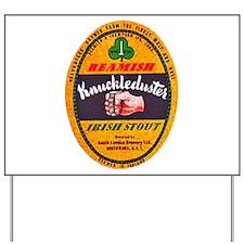 Ireland Beer Label 1 Yard Sign