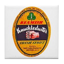 Ireland Beer Label 1 Tile Coaster