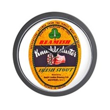 Ireland Beer Label 1 Wall Clock