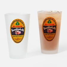 Ireland Beer Label 1 Drinking Glass
