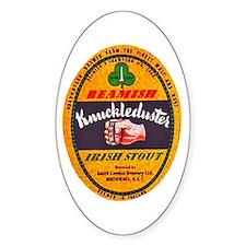 Ireland Beer Label 1 Decal