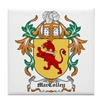 MacColley Coat of Arms Tile Coaster