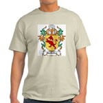 MacColley Coat of Arms Ash Grey T-Shirt