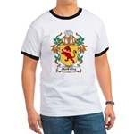 MacColley Coat of Arms Ringer T