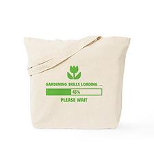 Gardening Skills Loading Tote Bag