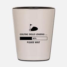 Golfing Skills Loading Shot Glass