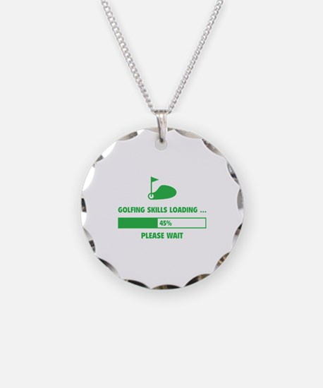 Golfing Skills Loading Necklace