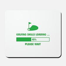 Golfing Skills Loading Mousepad
