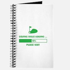 Golfing Skills Loading Journal