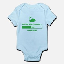 Golfing Skills Loading Infant Bodysuit