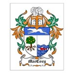 MacCoey Coat of Arms Small Poster