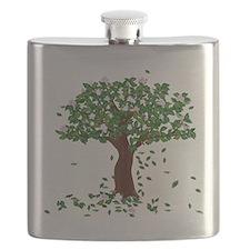 MAGNOLIA TREE Flask