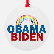 Obama Rainbow Ornament