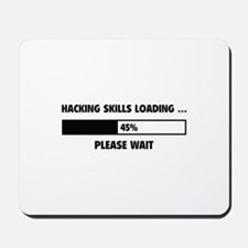 Hacking Skills Loading Mousepad