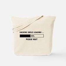 Hacking Skills Loading Tote Bag
