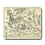 Map of Raine Benaress world Mousepad