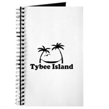 Tybee Island GA - Palm Trees Design. Journal