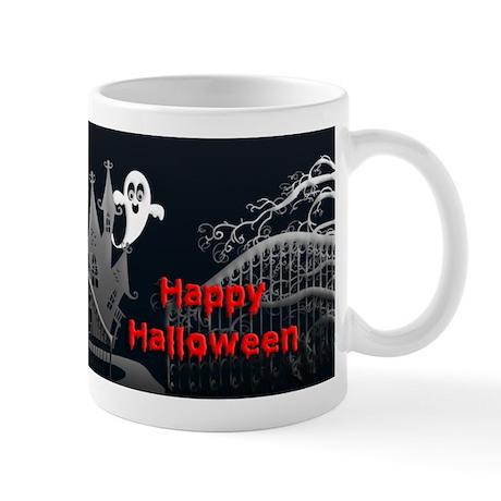 Haunted House Halloween Mug