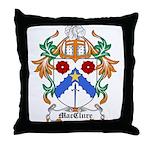 MacClure Coat of Arms Throw Pillow