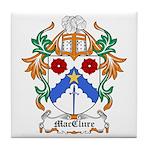MacClure Coat of Arms Tile Coaster