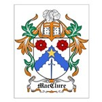 MacClure Coat of Arms Small Poster