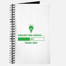 Brilliant Idea Loading Journal