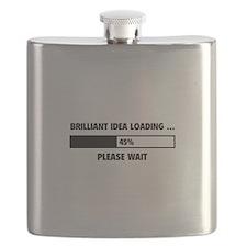 Brilliant Idea Loading Flask