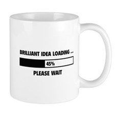Brilliant Idea Loading Small Mug