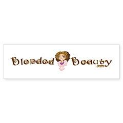 Blended Beauty Bumper Bumper Sticker