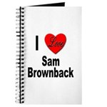 I Love Sam Brownback Journal