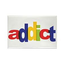 online auction addict Rectangle Magnet