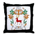 MacCarty Coat of Arms Throw Pillow
