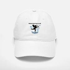 Shooting For Liam Blue Swirls Baseball Baseball Cap