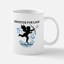Shooting For Liam Blue Swirls Mug