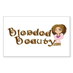 Blended Beauty Rectangle Decal