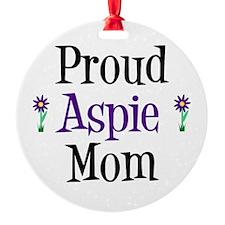 Proud Aspie Mom Ornament