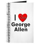 I Love George Allen Journal