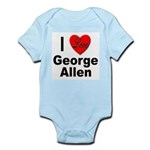I Love George Allen Infant Creeper