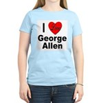 I Love George Allen Women's Pink T-Shirt