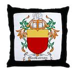 MacCarron Coat of Arms Throw Pillow