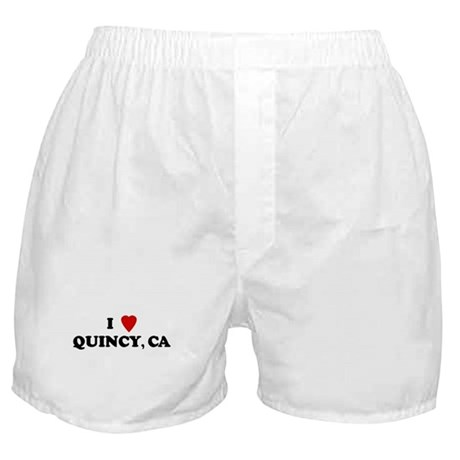 I Love QUINCY Boxer Shorts