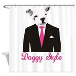 Doggy Style Shower Curtain