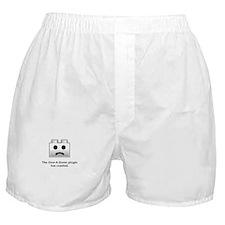 Give-A-Damn Plugin Crash Boxer Shorts