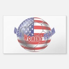 US Womens Soccer Decal