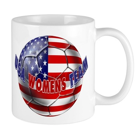 US Womens Soccer Mug