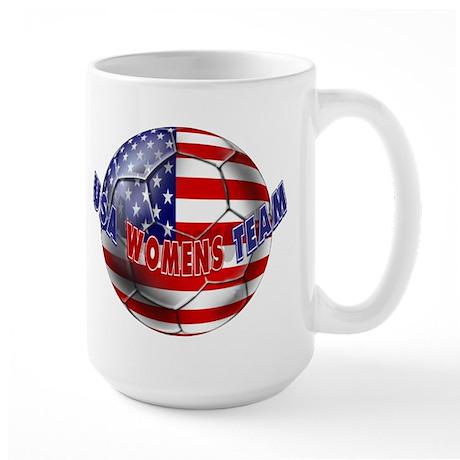 US Womens Soccer Large Mug