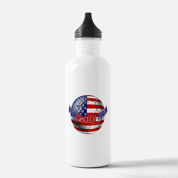 US Womens Soccer Water Bottle