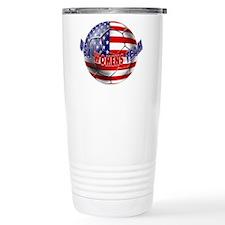 US Womens Soccer Travel Mug