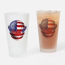 US Womens Soccer Drinking Glass