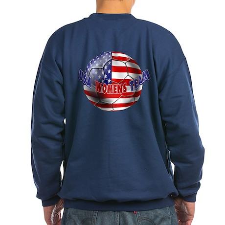 US Womens Soccer Sweatshirt (dark)